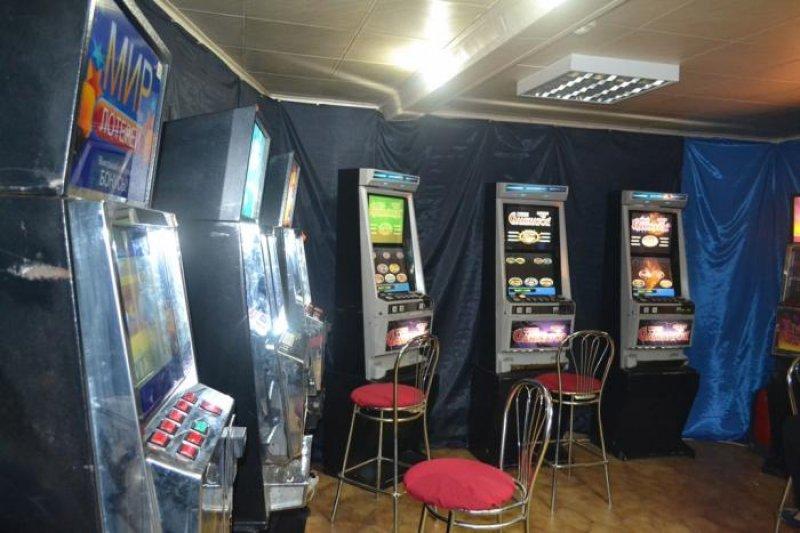 проведение азартных игр и