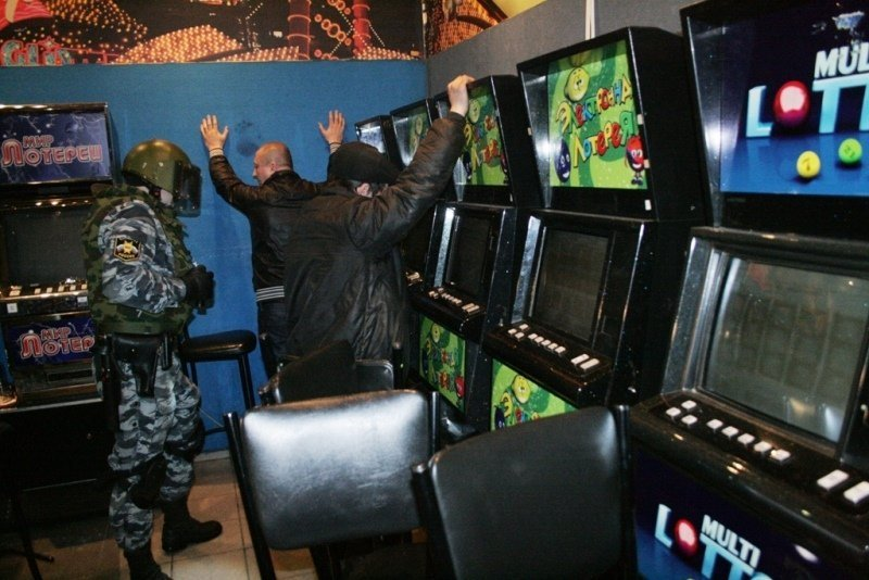 игровые автоматы уголовная ответственность